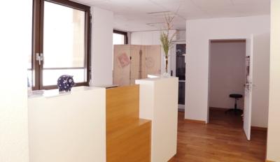 Anmeldebereich der Augenarztpraxis in 82024 Taufkirchen